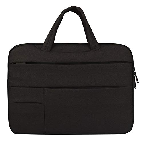 ZHAOLV Laptoptasche Laptop Hülle Tasche for 15 '' 12 '' 13 '' Cover Notebook Handtasche (Color : Black, Size : 14.1 15.4 inch) -