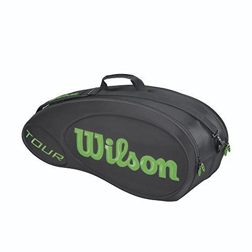 Wilson - Burn Molded 6er Tennistasche schwarz