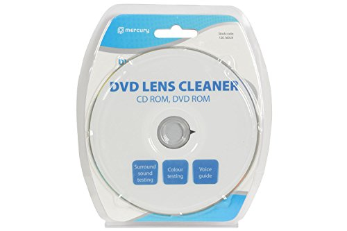Lens Cleaner for CD/DVD/Blu-ray/PC & Games Consoles