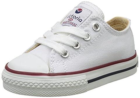 Victoria Zapato Autoclave, Baskets Basses Mixte Enfant, Blanc (Blanco), 24