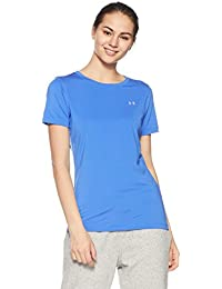 Under Armour Heat Gear Armour Short Seeve Women's Body Blouse Top