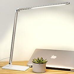LED desk lamp eye protection study desk student dormitory lamp children reading lamp plug in bedroom bed head energy saving