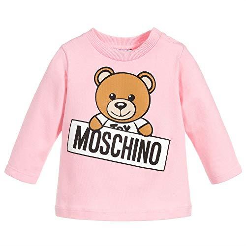 Moschino t-shirt rosa con orsetto 18m