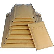 100 Luftpolsterversandtaschen Luftpolstertaschen Gr. C/3 braun ( 170 x 225mm ) DIN A5