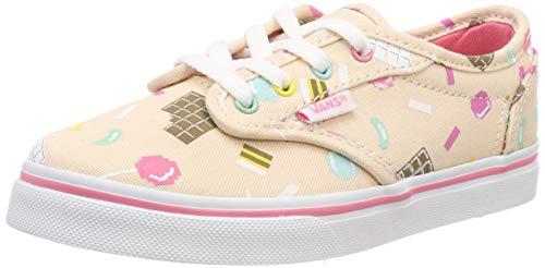 Vans Mädchen Atwood Low Missy Sneaker, Mehrfarbig ((Sweet Treat) Vanilla Cream Vhm), 37 EU Mädchen Vans