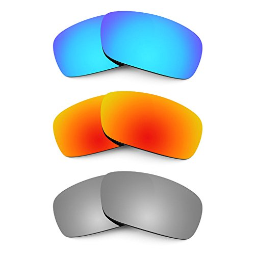 f75fe1d309a Revant Replacement Lenses for Arnette Infamous AN4076 3 Pair Combo Pack K014