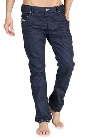 Diesel - Jeans Diesel Krooley 801Y Color Exposure Regular Slim-Carrot - Bleu, W36 / L32 - (fr T46)