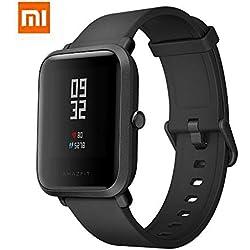 AMAZFIT Bip Xiaomi Smartwatch Monitore de activida Pulsómetro Ejercicio Fitness Versión Internacional Black