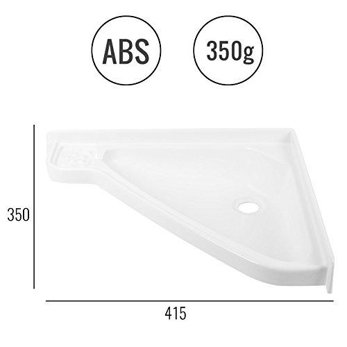 Wohnwagen & Wohnmobil Waschbecken klein, (L/B/T): 415 x 350 x 60 mm, Weiß, ABS Kunststoff