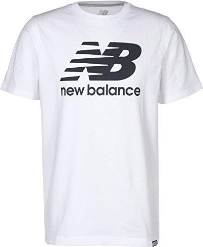 New Balance MT Classics Logo Tee White L