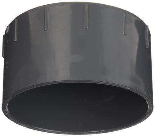 Spears 447-g Serie PVC-Rohr Fitting, GAP, Schedule 40, Grau, Sockel, 1/2