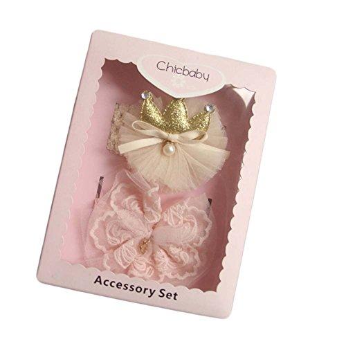 Belle boîte de cadeau de support de cheveux pour des bandes de cravate de cheveux de filles de bébé de Loveble