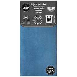 ADP Home - Bajera ajustable (para cama de 150 cm), azul