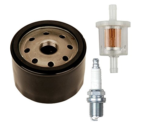 OuyFilters Oil Filter With 493629 Fuel Filter Replace for Briggs & Stratton 492056 492932 492932S 695396 696854 795890 842921 4154