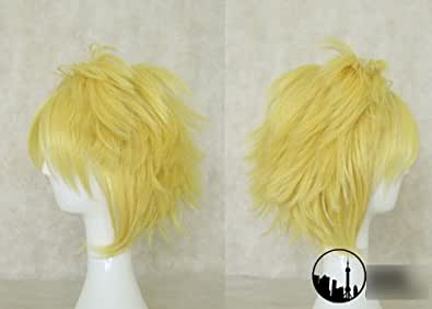 Tingshop The Prodigal Explorateur Ezreal 35cm perruque cosplay League of Legends cheveux LOL w / cap