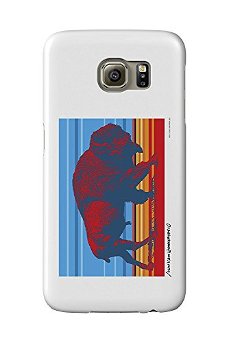 Native Buffalo - John Van Hamersveld Poster Artwork (Galaxy S6 Cell Phone Case, Slim Barely There) -