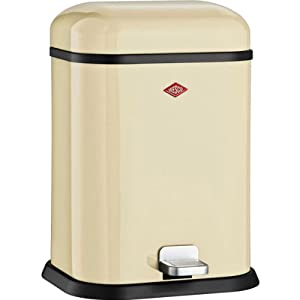 Wesco garbage bin Single Boy creme 132 212-23