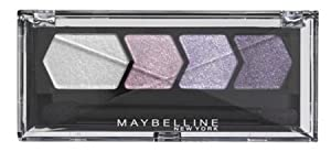 Maybelline Silk Glam Eyestudio Quad Eyeshadow - 11 Purple Drama