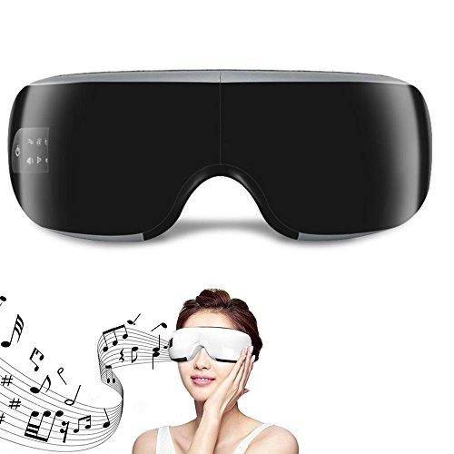 ZRYstore Massaggiatore elettrico per la cura degli occhi e la macchina per il sollievo dallo stress con 3 modalità di pressione dell\'aria, compressione del calore musicale Bluetooth