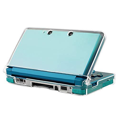 Insten Snap-on Crystal case compatibile con Nintendo 3DS Solo 2011 Versione, Clear