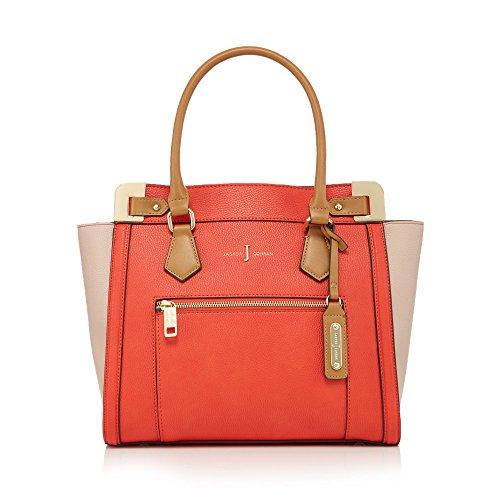 j-by-jasper-conran-womens-coral-croc-effect-tote-bag