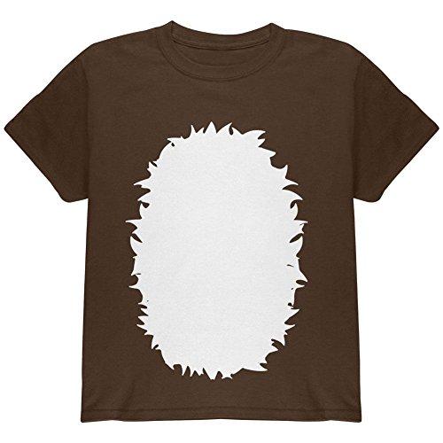 (Old Glory Halloween Baby Hirsch REH Kostüm Jugend T Shirt dunkle Schokolade YSM)