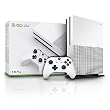 Microsoft Xbox One S 1TB Console + Hellblade Senua's Sacrifice game + Crackdown 3 game (Xbox One)