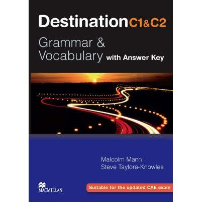 [(Destination Grammar C1 & C2: Student's Book with Key)] [Author: Malcolm Mann] published on (January, 2008)