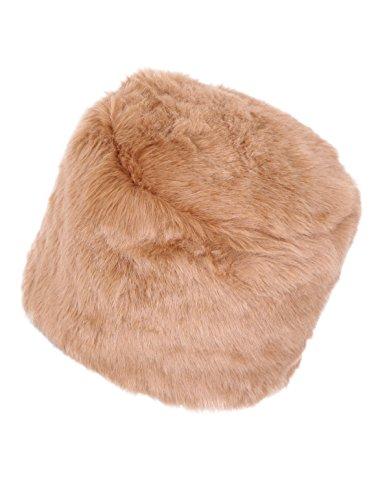 New Ladies Women's Glamorous Ushank Faux Fur Russian Fully Linned