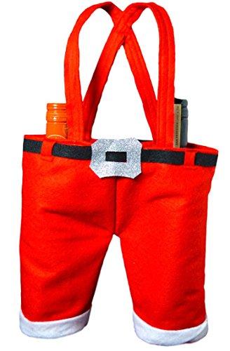 Weihnachten Santa Pants WEIN FLASCHE cokay LTD für 2Flaschen (Pant Flasche)
