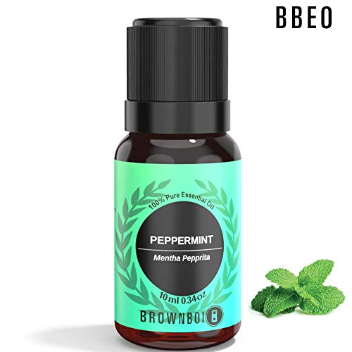 BrownBoi BBEO Peppermint Essential Oil Aromatherapy & Therapeutic Grade