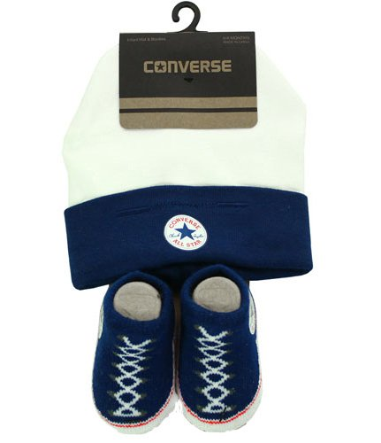 Newsbenessere.com 41SV5xTbWLL Baby Converse Hat and Booties Set Pink
