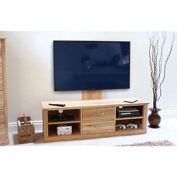 Mobel Oak Widescreen TV Cabinet: Amazon.co.uk: Electronics