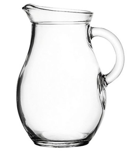 Jarra de cristal pequeña (250ml)