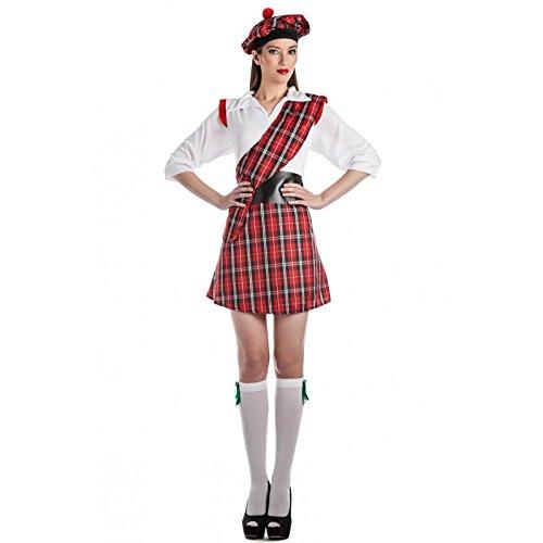 Imagen de disfraz escocesa talla xl