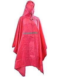 Regenponcho mit Kapuze Regencape Regenjacke Regenschutz Poncho Cape Regen NEW+