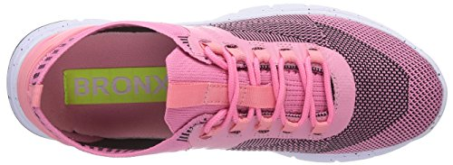 Bronx BX 856, Low-Top Sneaker donna Rosa (Pink (multi pink99))