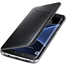 Funda Samsung Galaxy S6 Edge Espejo PC Flip 360° Protectora Ultra Delgado Choque Absorción Anti-Arañazos Case Carcasa para Galaxy S6 Edge Caso Estuche Cover Jeper®