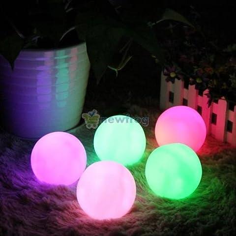 spheriform a LED che cambia colore lampada umore luce notturna casa Xmas Party Decor