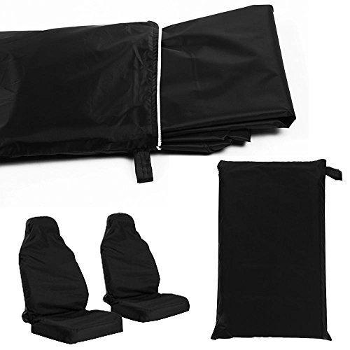 Preisvergleich Produktbild Yahee 2X Autositzbezüg Werkstattschonbezug Sitbezug Schonbezug Sitzschutz Schutzbezug