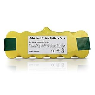 Ersatz iRobot Akku Batterie für Roomba 500, 510, 520, 521, 530, 531, 532, 535, 540, 545, 550, 552, 555, 560, 562, 563, 564, 570, 580, 581, 582, 585, 595, 600, 610, 620, 630, 650, 651, 660, 700, 760