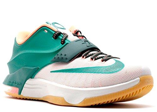 best website d9ba5 d7ae2 Nike KD VII Mystic Green   Light Bone   Gum Light Brown 653996-330 (