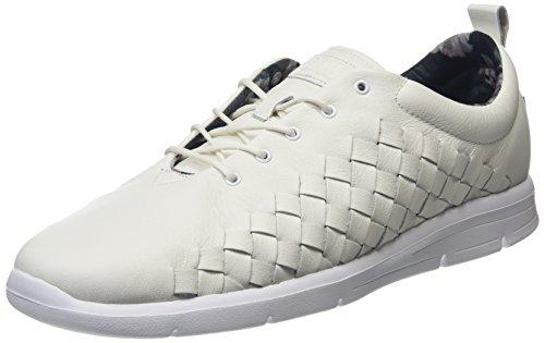 Vans Tesella, Sneakers Basses Homme Blanc (3d Aloha)