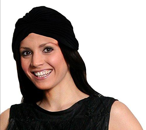 Damen Kopfbedeckung Turbanstil Modische Wickelmütze Verkleidung Indischer Stil Damen Urlaubshut (Indische Kopfbedeckung Kostüm)