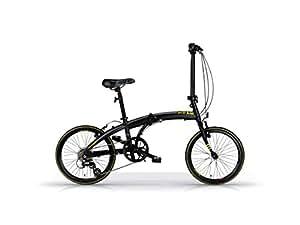 "Bicyclette vélo pliant MBM SNAP 20"" matt black"