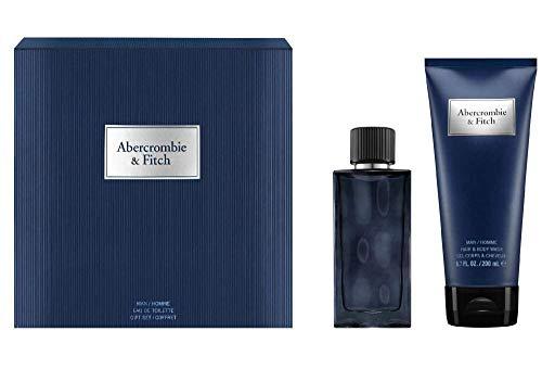 Abercombie and Fitch First Instinct Blue For Men Eau de Toilette 50 ml + Lait Cheveux et Corps 200 ml