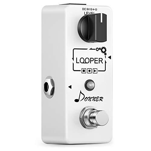 Donner Looper Gitarre Effektpedal 10 Minuten Looping