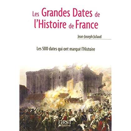 Le Petit Livre de - Les Grandes Dates de l'Histoire de France