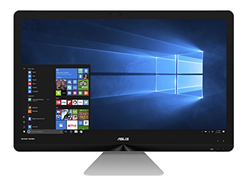 """Asus ASUS Zen AiO ZN270IEGT-RA026T 2.4GHz i5-7400T 27"""" 1920 x 1080pixels Écran tactile Gris PC All-in-One"""