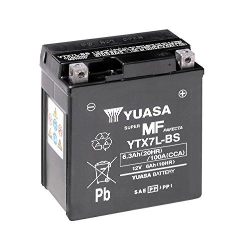Batteria YUASA ytx7l BS, 12V/6ah (dimensioni: 114X 71X 131) per APRILIA SR150anno 2003